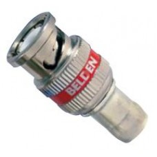 BELDEN BNC 3GHD COMPRESSION CONNECTOR RED 50 PACK