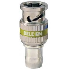 BELDEN BNC 3GHD COMPRESSION CONNECTOR YELLOW 50 PACK